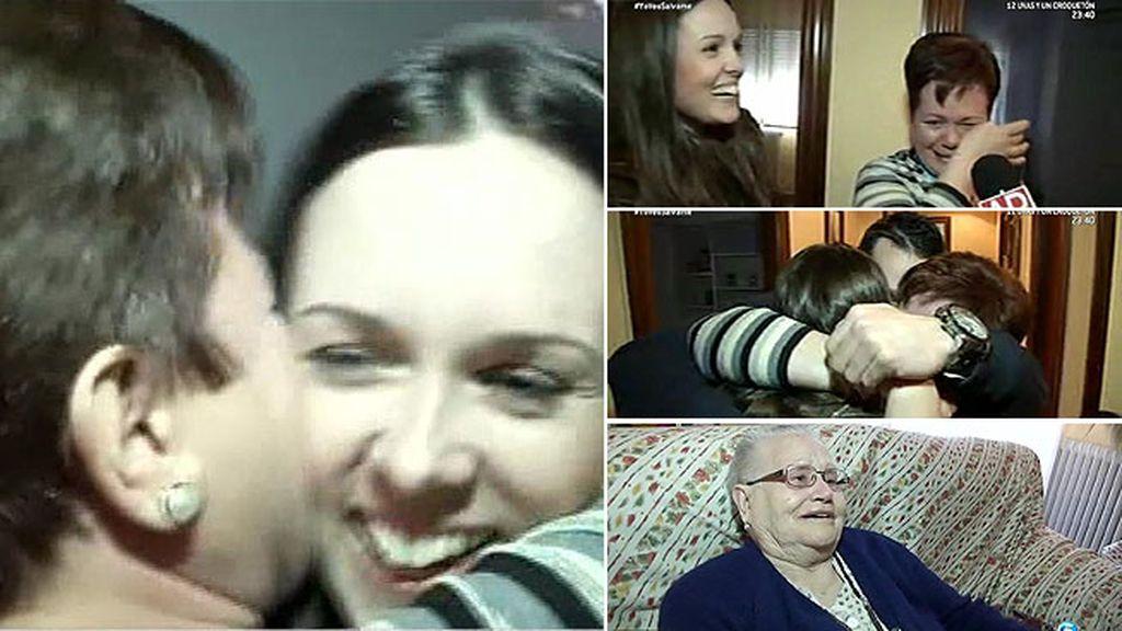 Nuria se reencuentra con su familia gracias a 'El programa de Ana Rosa'