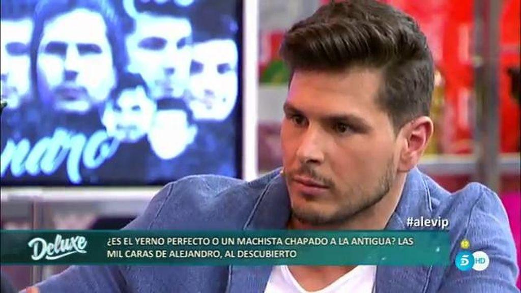 """Alejandro Nieto: """"Perdí la virginidad a los 14 años pero no fue bonito"""""""