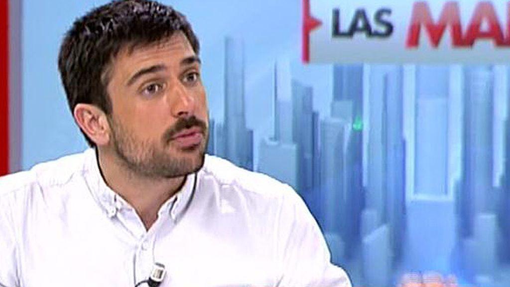 """Ramón Espinar: """"No tengo ninguna gana de someterme a un juicio público como el que se le ha hecho Guillermo Zapata"""""""