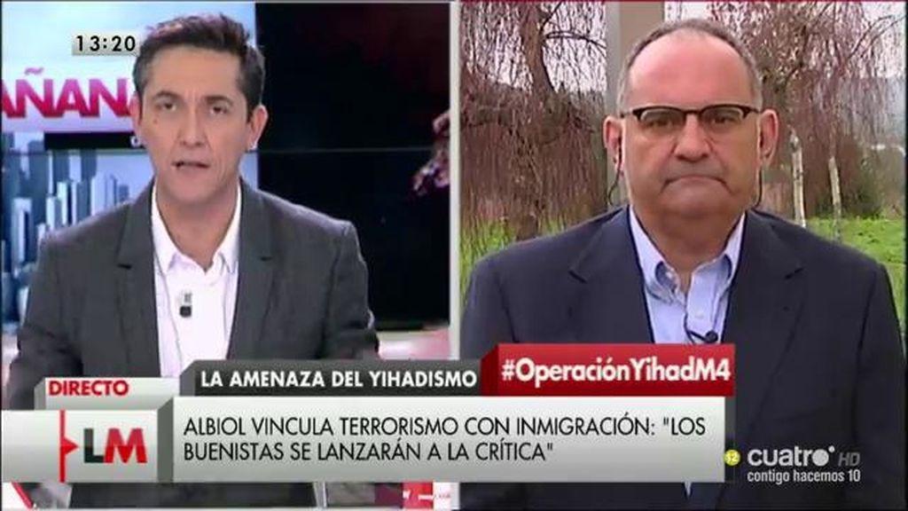 """Antón Losada, de Albiol: """"No sabe resolver conflictos, solo sabe crearlos"""""""