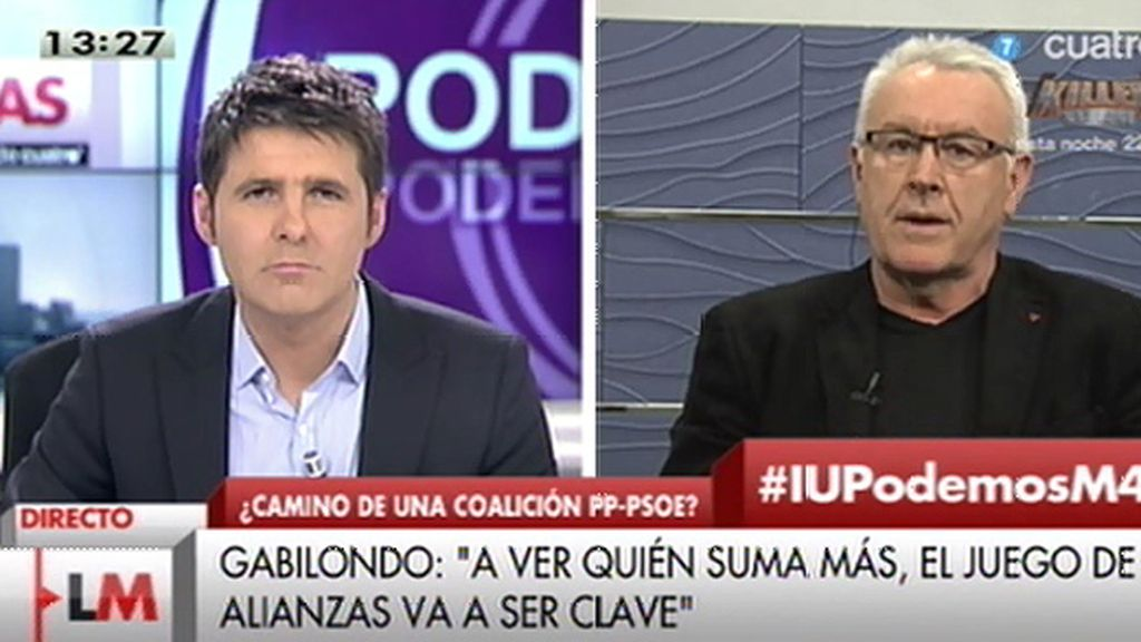 """Cayo Lara: """"En el ADN de IU tenemos la voluntad de converger"""""""
