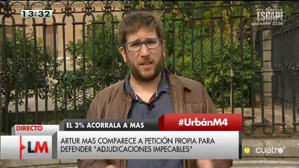 """M. Urbán: """"Lo que separa al PP y Convergencia y Unión es que unos tienen las cuentas en Suiza y otros en Andorra"""""""