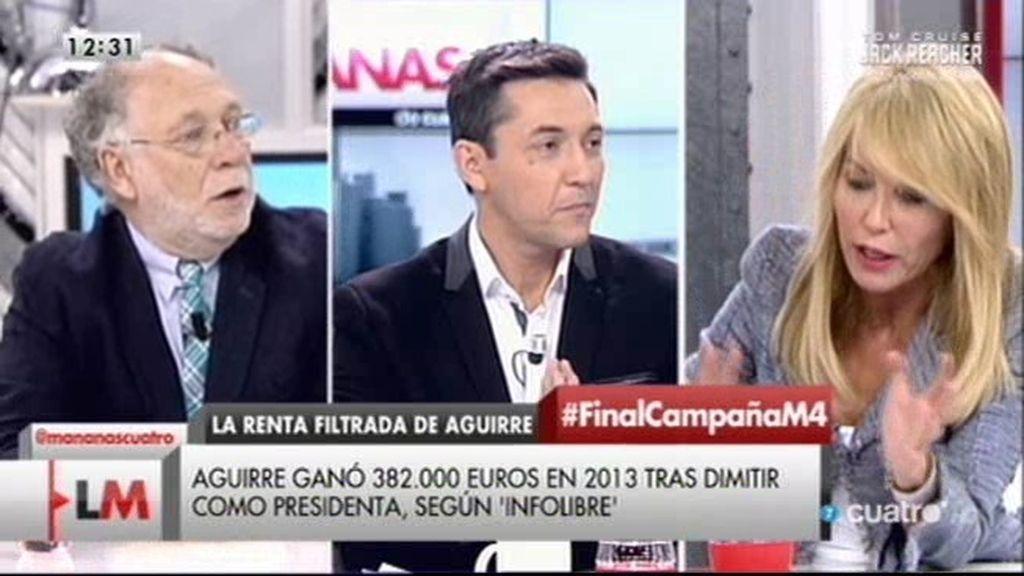 """Ekaizer: """"Le daría el premio Príncipe de Asturias al que filtró la renta de Aguirre"""""""