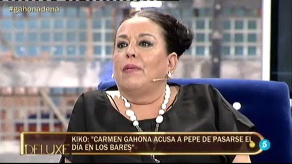 """Maribel, sobre Carmen Gahona: """"Le he puesto una denuncia"""""""