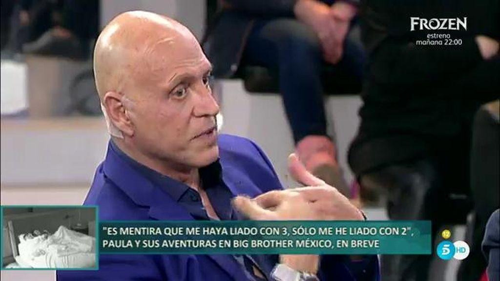 Toño Sanchís quiere involucrar a Matamoros como conocedor de todo