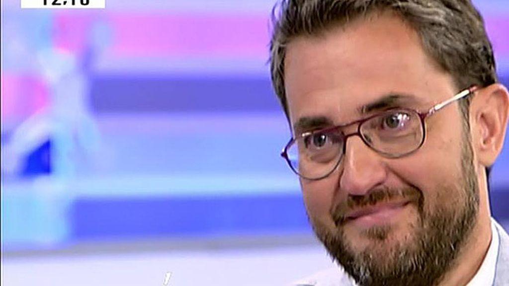 """Màxim Huerta: """"Yo disfruto escribiendo pero no dejo la tele, es un hasta luego"""""""