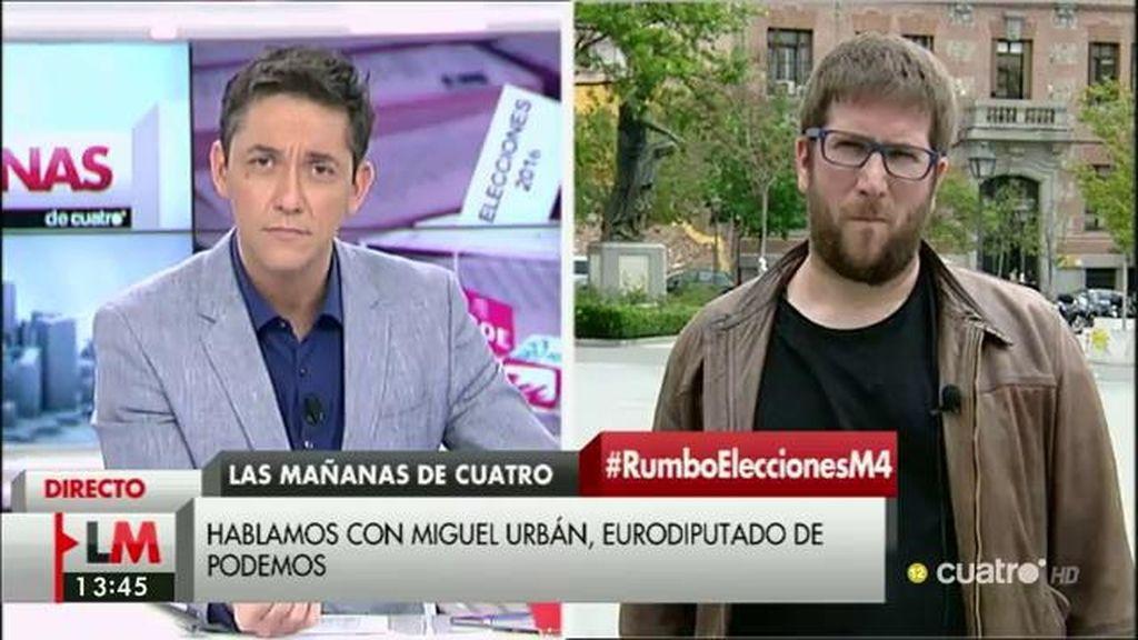 La entrevista a Miguel Urbán, a la carta