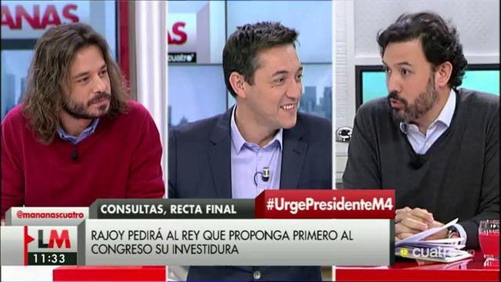 Debate sobre pactos entre PP, PSOE,  Ciudadanos y Podemos en 'LMDC'