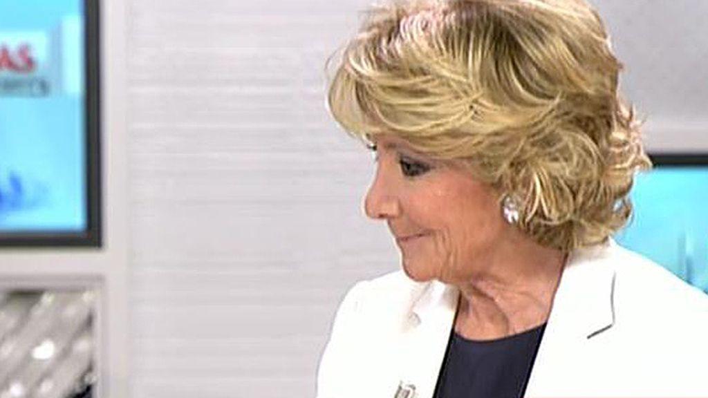 Aguirre afirma que no se puede hacer pública la lista quienes se acogieron a la amnistía