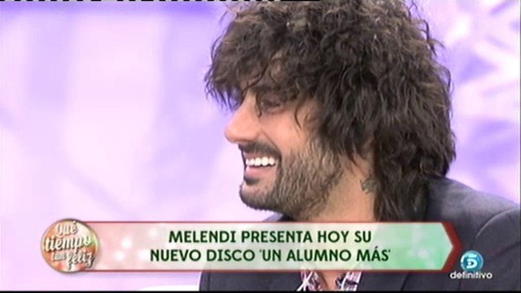 """Melendi: """"La Voz' ha sido una experiencia muy buena para mí, personal y profesional"""""""
