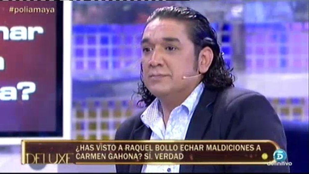"""Luis Amaya: """"Recuerdo como Raquel Bollo le echaba maldiciones a Carmen Gahona"""""""