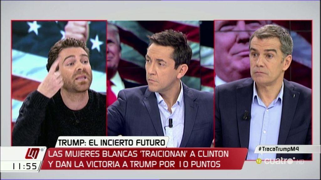 Los tres enfrentamientos entre Toni Cantó y Jorge Moruno por las elecciones en Estados Unidos