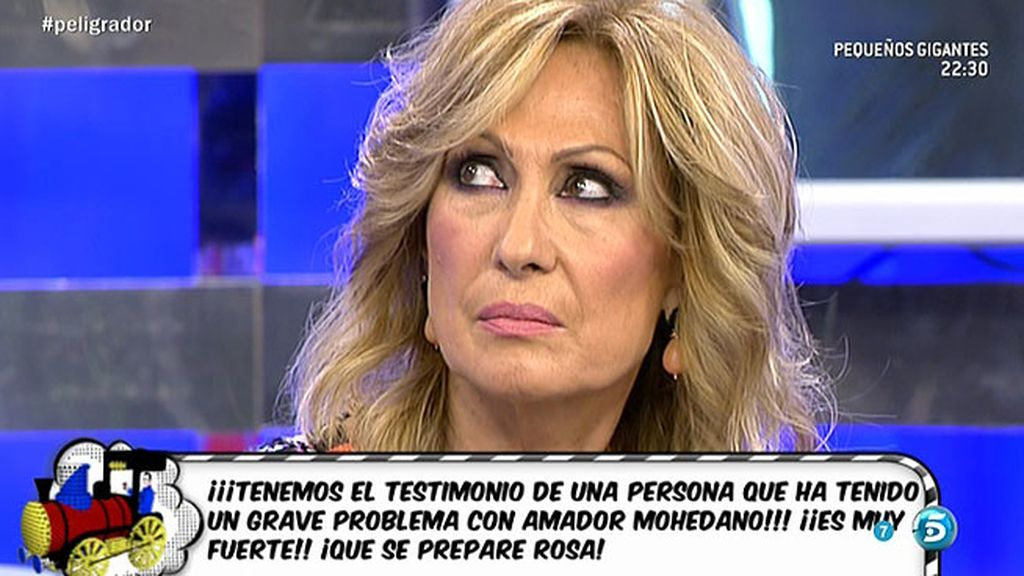"""Rosa Benito: """"Estoy harta de que Amador me culpe de todo lo que le pasa"""""""