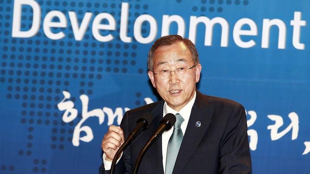 Ban Ki-moon inaugura una conferencia sobre el desarrollo en Seúl