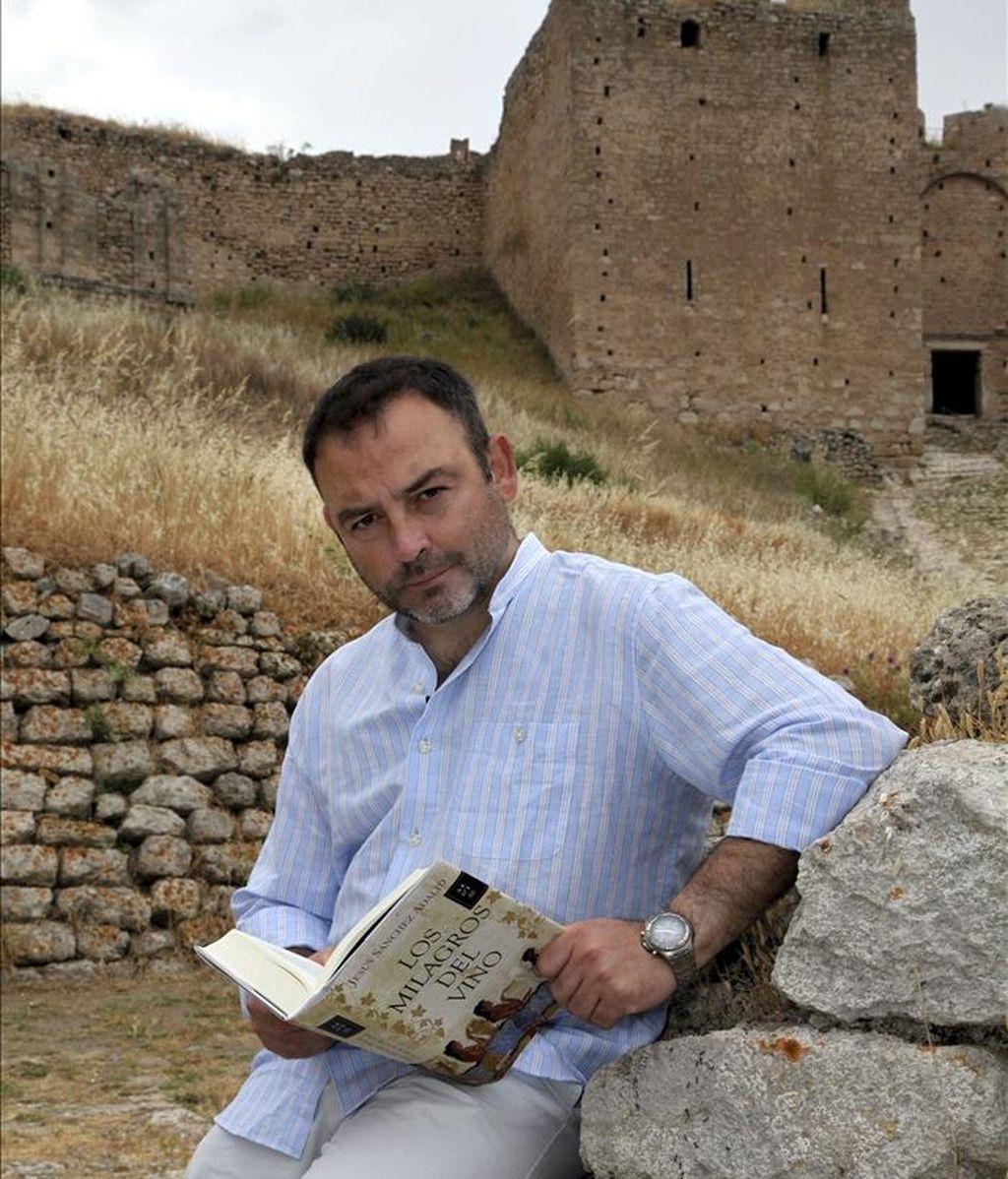 El escritor español Jesús Sánchez Adalid. EFE/Archivo