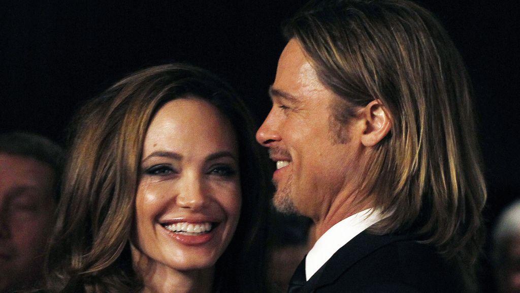 Angelina Jolie y Brad Pitt en la entrega de premios de la Asociación de Productores en Beverly Hills