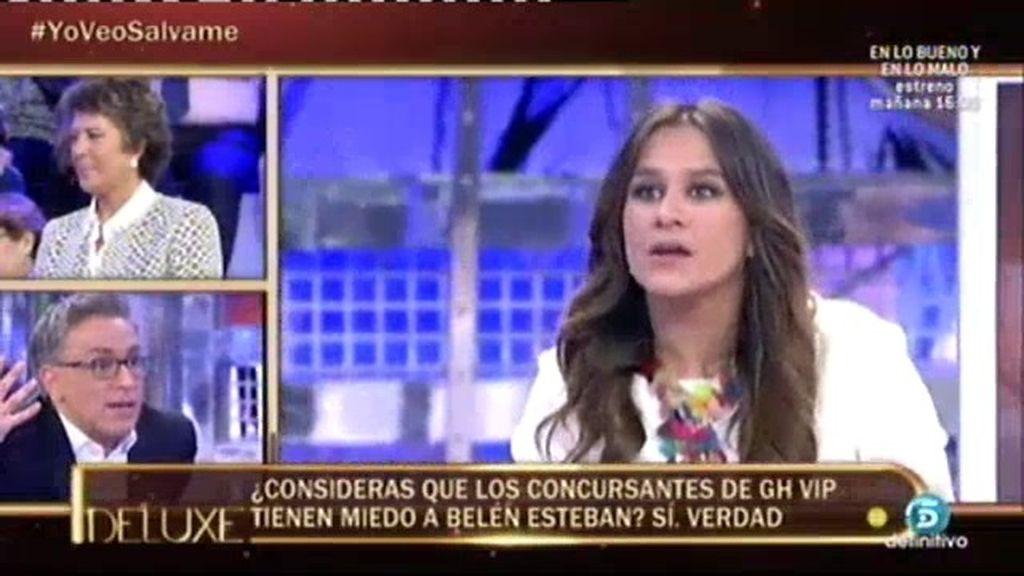 """Laura Cuevas: """"Los concursantes de 'GH VIP' tienen miedo de Belén Esteban"""""""
