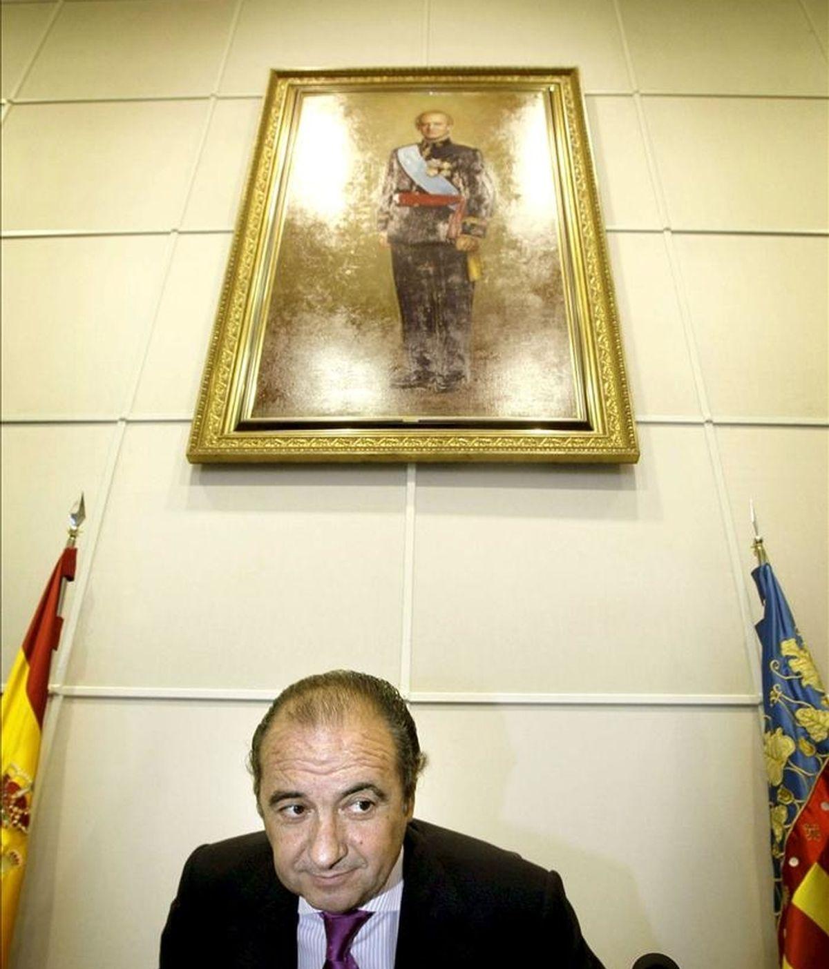 El presidente de la Diputación de Alicante, José Joaquín Ripoll. EFE/Archivo