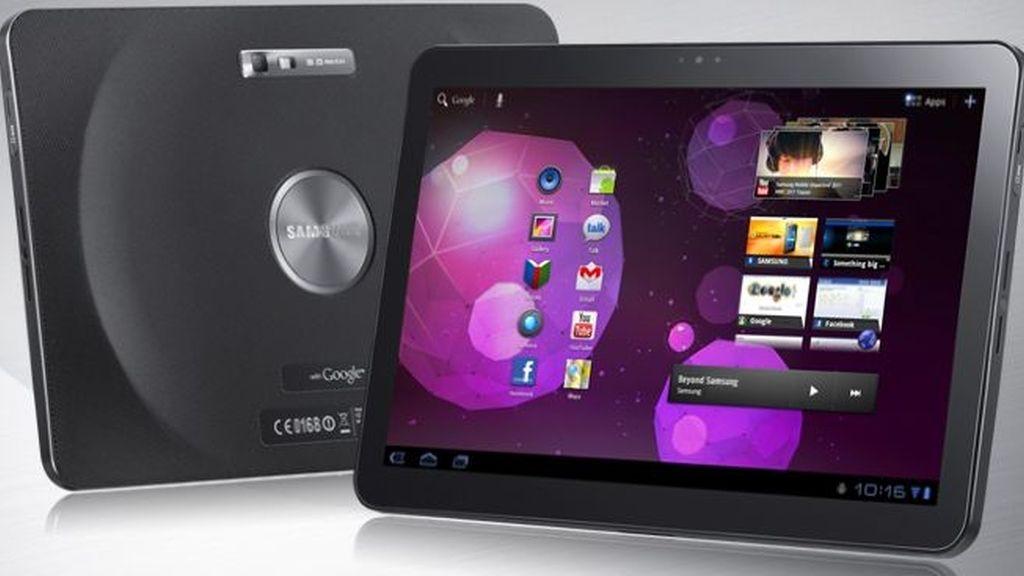 Samsung podrá seguir vendiendo su 'tablet' Galaxy Tab 10.1 en Europa, excepto en Alemania. Foto archivo
