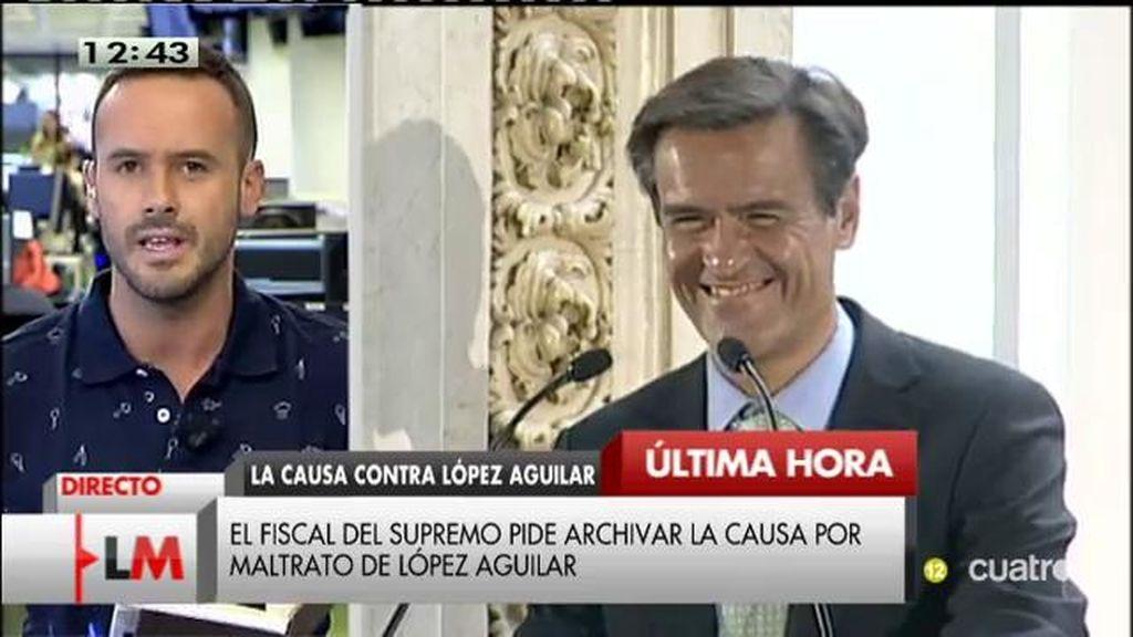 La Fiscalía pide que se archive la causa contra juan Fernando López Aguilar