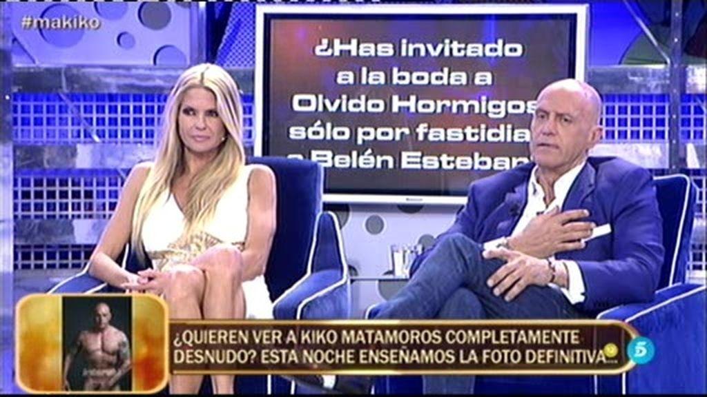 El 'Polideluxe' pilla a Matamoros: ¡Olvido invitada a su boda para molestar a Belén!