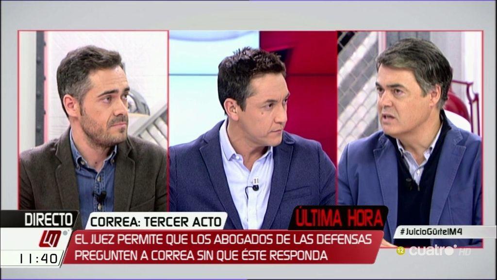"""Carlos Rojas: """"El PP no está imputado y no tiene responsabilidad política porque no está en este juicio"""""""