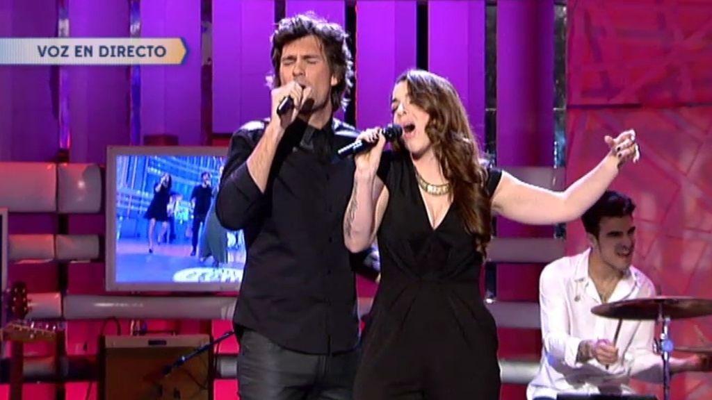 Ruth Lorenzo y Fran Dieli cantan 'La vida en Rosa' de Edith Piaf