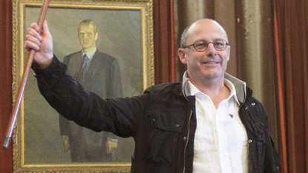 Juan Karlos Izaguirre, alcalde de San Sebastián