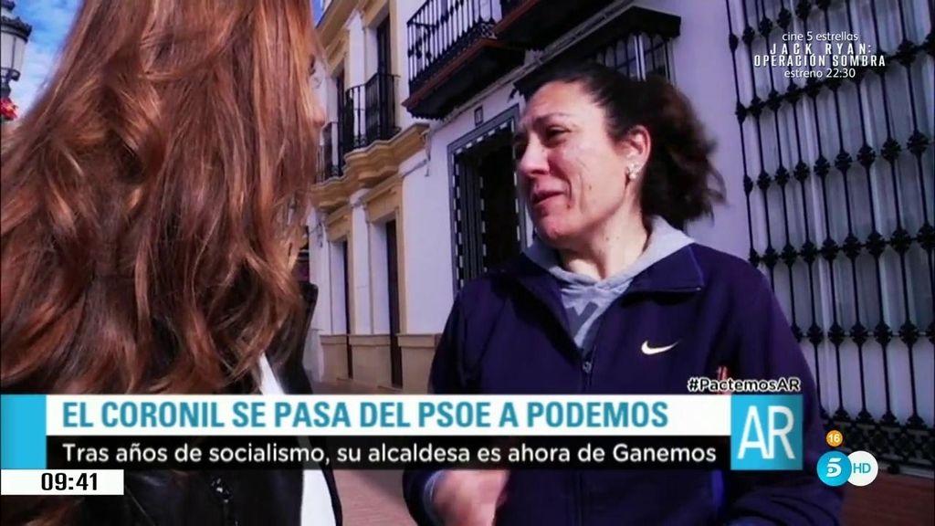 El Coronil cambia el color político del Ayuntamiento: del PSOE a Podemos