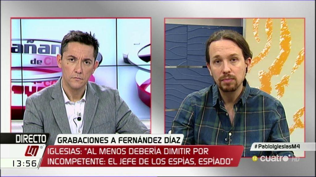 La entrevista de Pablo Iglesias, a la carta