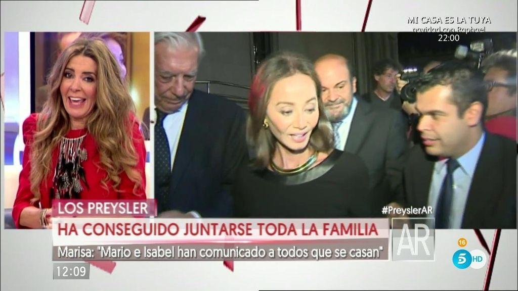 """Marisa Martín Blázquez: """"Isabel y Mario han comunicado a todos que se casan"""""""