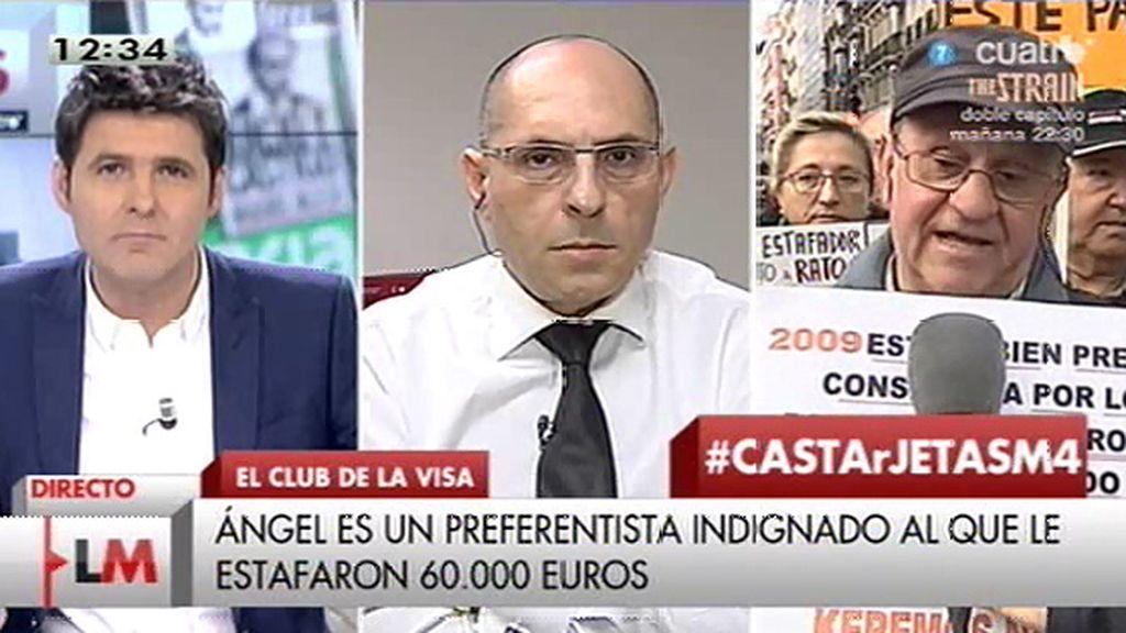 """Elpidio Silva: """"No se quiere que se investigue la corrupción en Caja Madrid"""""""