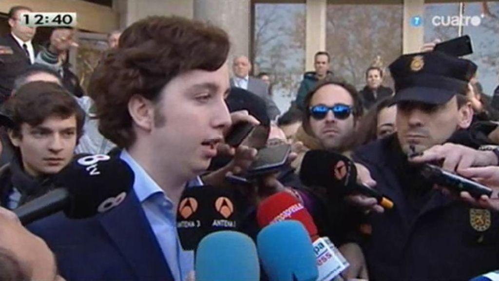 """Fco. Nicolás sale de los juzgados: """"Me he acogido a mi derecho a no declarar"""""""
