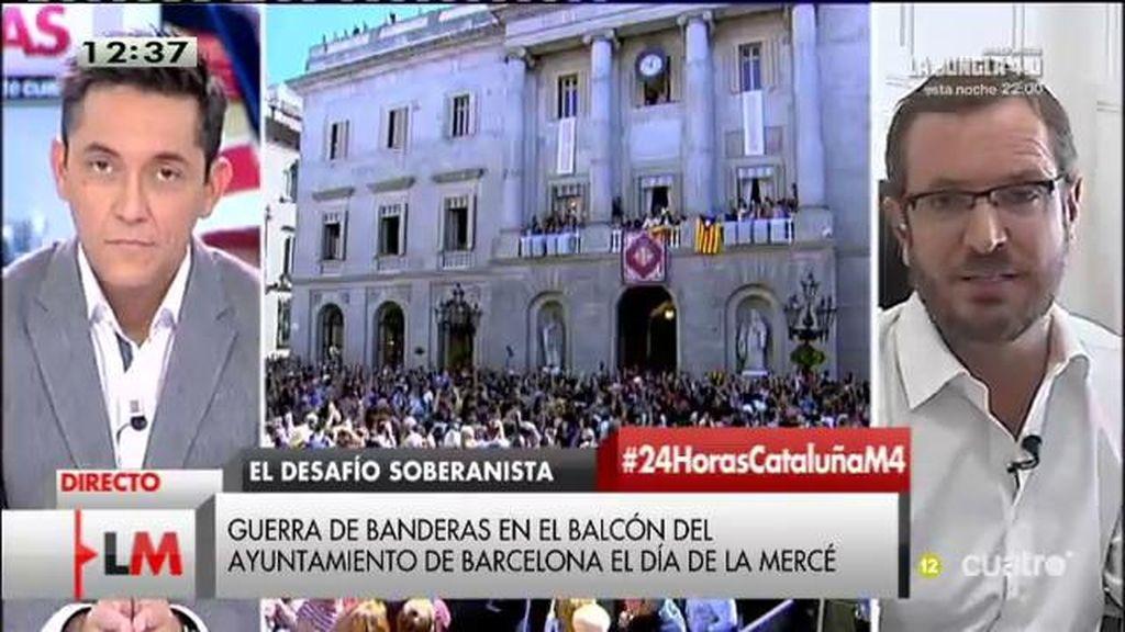 """Javier Maroto: """"El ministro del Interior no ha comparado la situación de Cataluña con la situación de los asesinatos de ETA"""""""