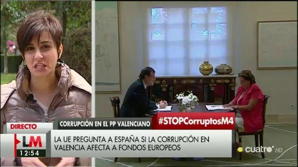 """Isabel Rodríguez: """"El PP debería pagar factura por la corrupción que ha amparado"""""""