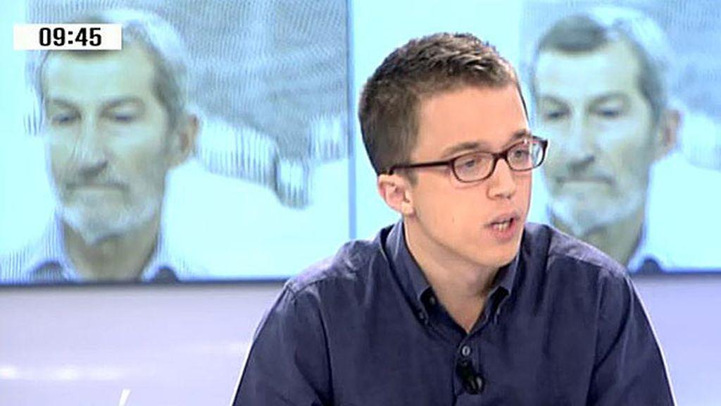 """Errejón, sobre el futuro de Podemos: """"Llevo tres semanas oliendo a remontada"""""""