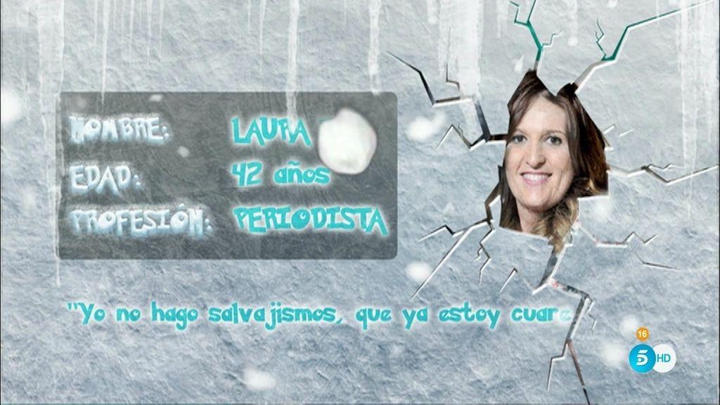 Laura Fa, una periodista llena de cualidades... ¡incluso saber hacer la croqueta!