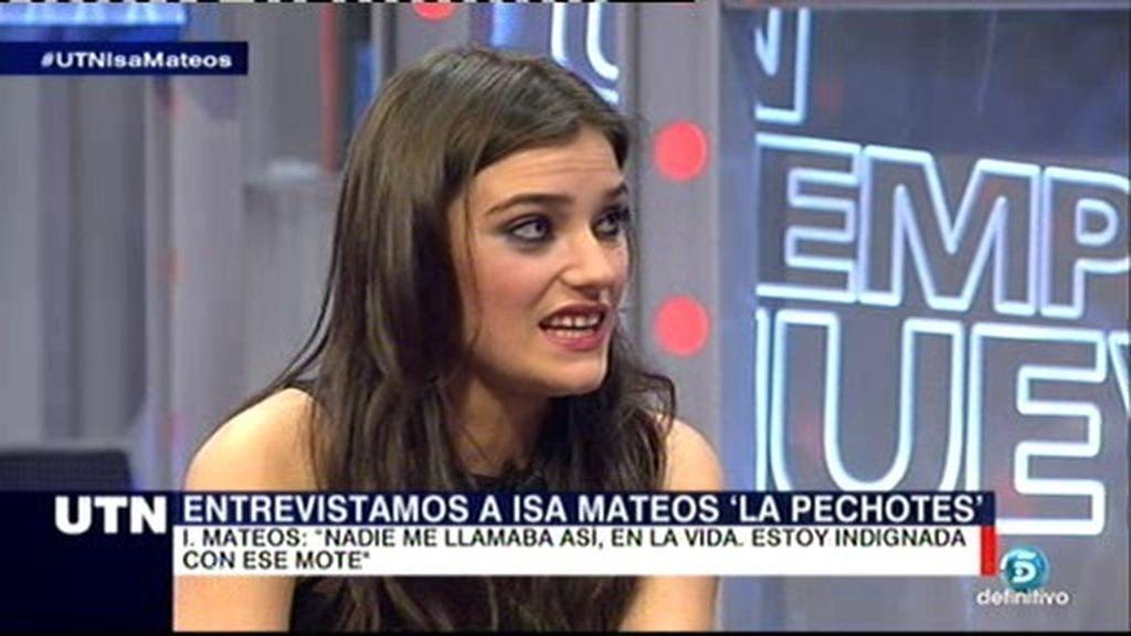 """Isabel Mateos: """"Me han utilizado como una cortina de humo, lo creo totalmente"""""""