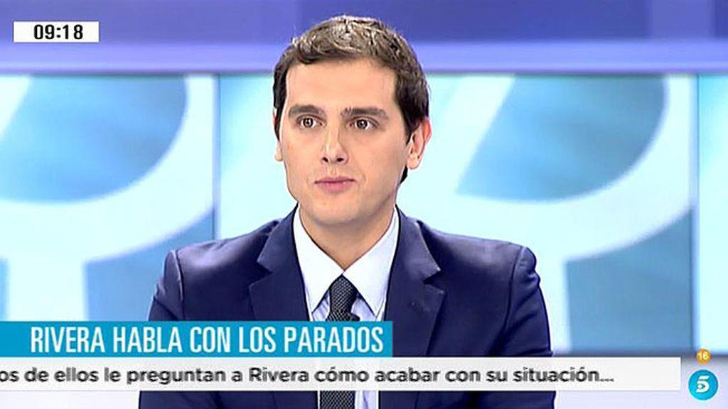 """Rivera: """"Con 17 millones de cotizantes no se pueden pagar las pensiones, hay que fomentar la contratación y la natalidad"""""""