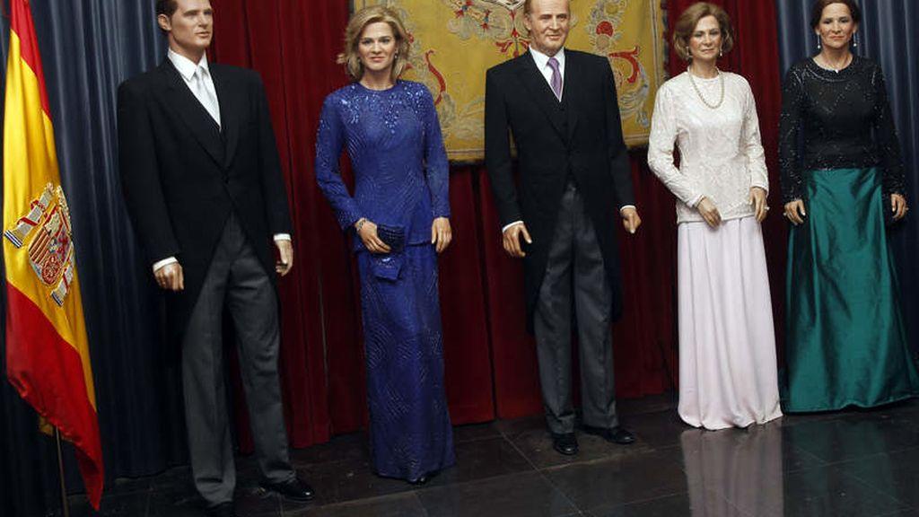 Infantas, familia real museo de cera