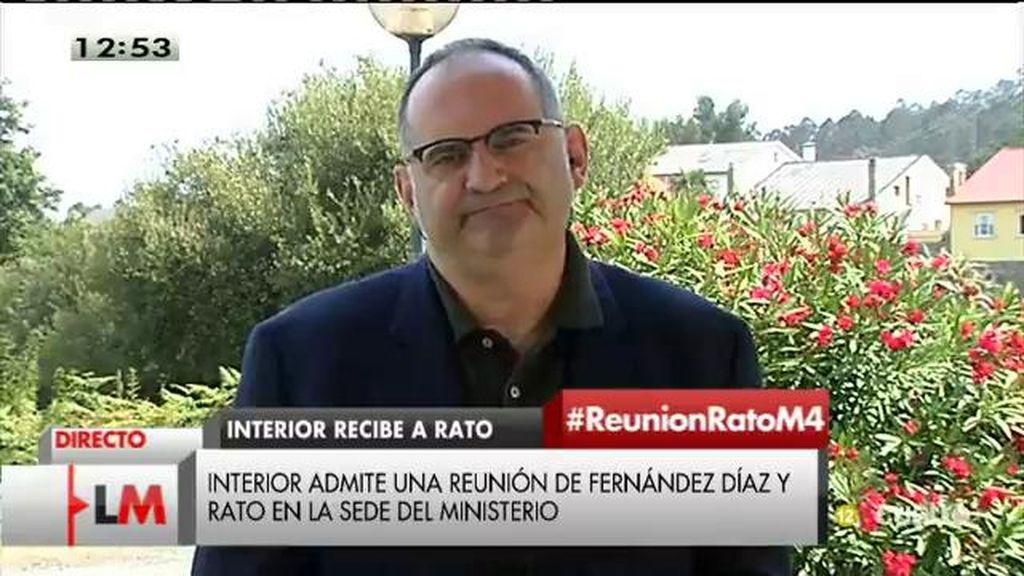 """Antón Losada: """"El PP, frente a la corrupción, maneja un discurso hipócrita"""""""