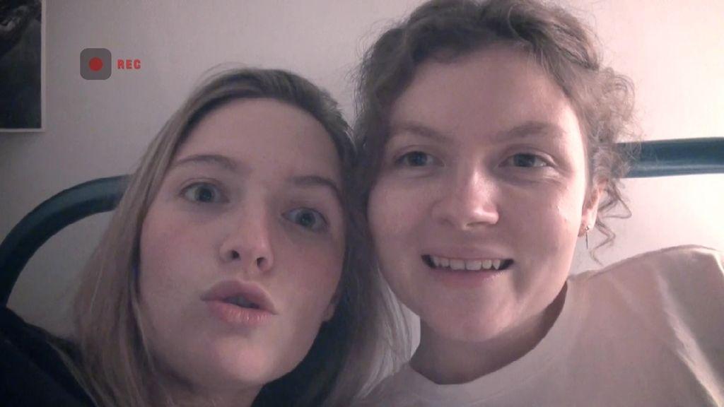 Las hermanas Capdevila no quieren dormir solas en el convento de clausura