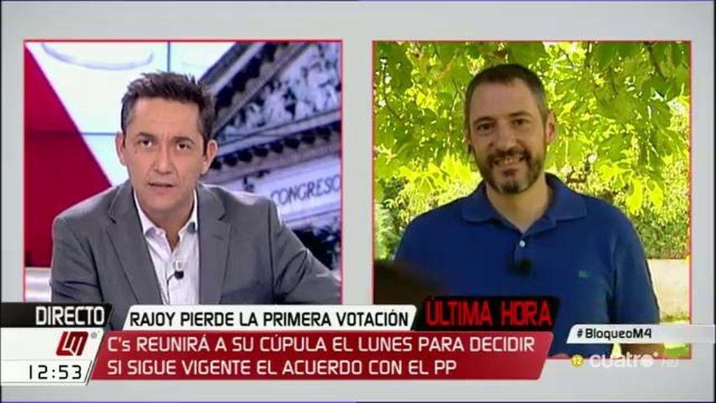 """José Pablo Ferrándiz: """"Si hay terceras elecciones podría propiciar una menor participación"""""""