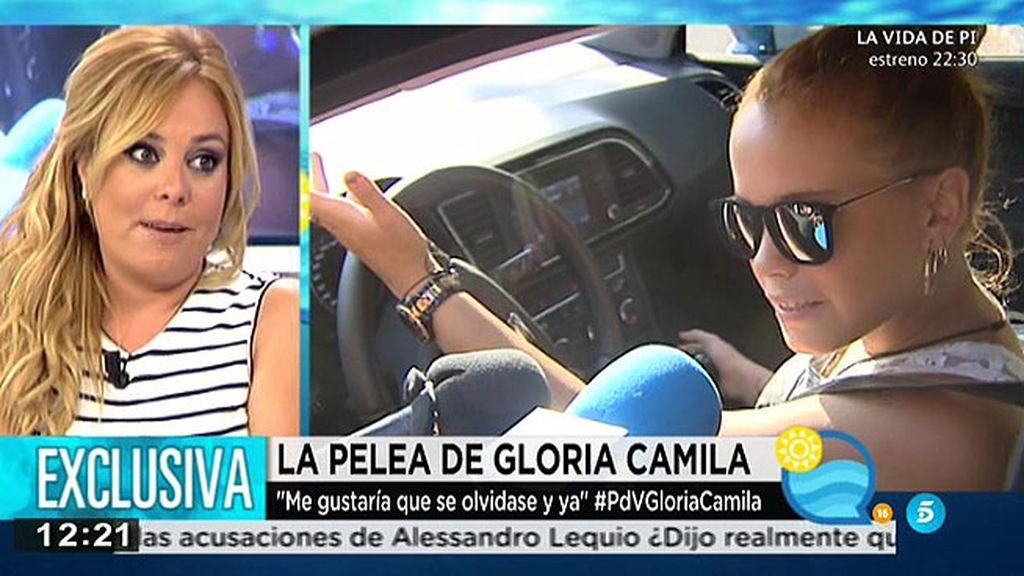 Gloria Camila, denunciada por la chica con la que tuvo un altercado
