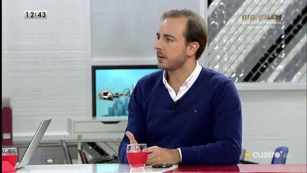 """Javier Dorado: """"Rajoy está hablando con todo el mundo para buscar un acuerdo que permita una certidumbre política"""""""