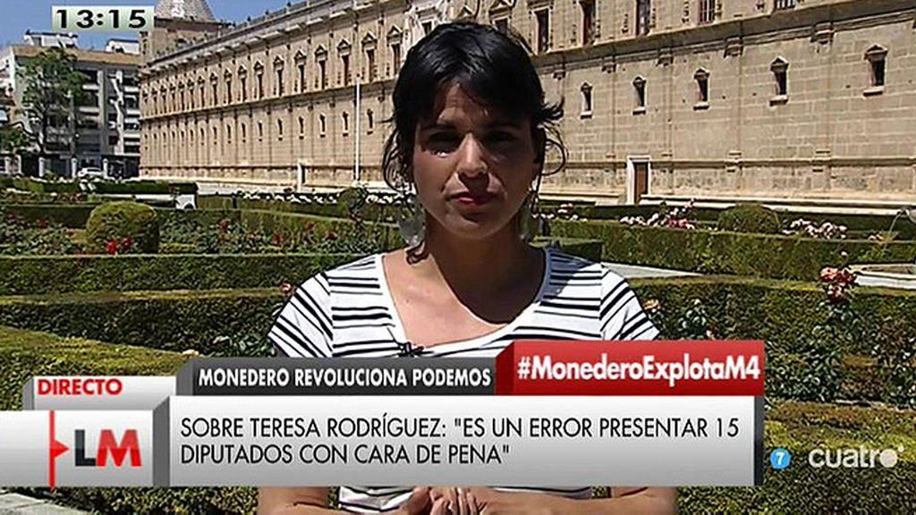 La entrevista a Teresa Rodríguez, online