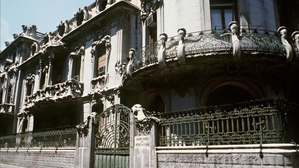 Sede de la SGAE en Madrid. EFE/Archivo