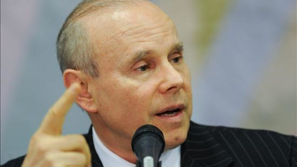 El ministro de Hacienda de Brasil, Guido Mantega. EFE/Archivo