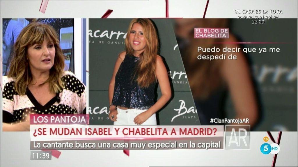 """Cortázar: """"Chabelita está buscando una vivienda en Madrid"""""""