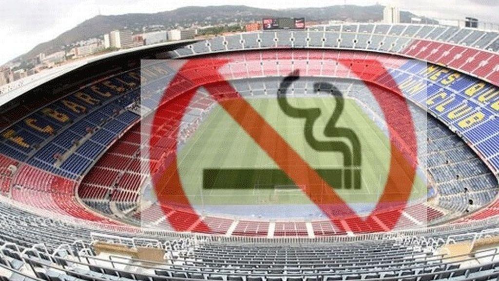 Se prohíbe fumar en todo el recinto azulgrana
